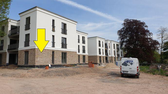 Wohnen am Park, Erstbezug. Eckwohnung in Südausrichtung. Einziehen und wohlfühlen! Wohnung mit Terrasse in Ense-Bremen