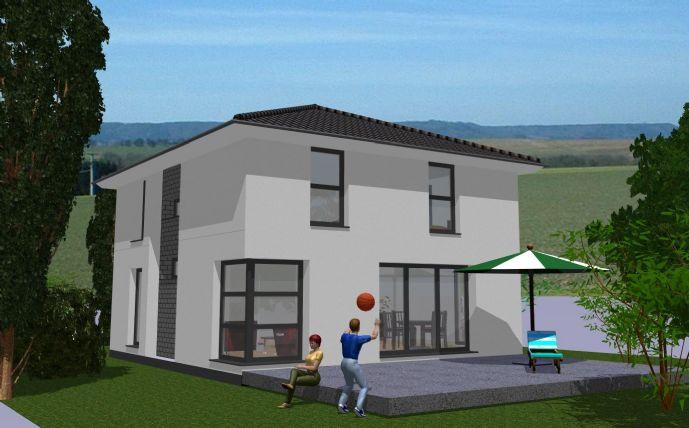 Neubau Stadthaus-Villa sehr guter Lage von HH-Lurup