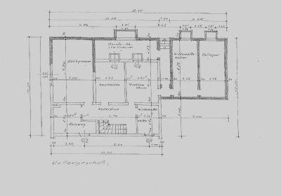 Grundriss Einfamilienhaus- KG