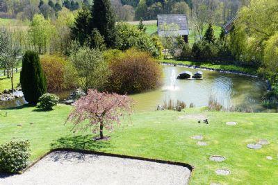 Große Teichanlage
