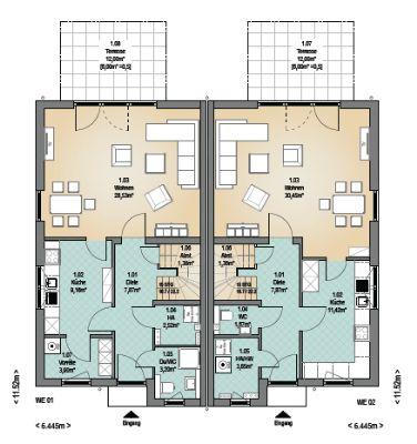 erst bauen dann zahlen doppelhaush lfte als ausbauhaus in l beck k cknitz 1 h lfte reserviert. Black Bedroom Furniture Sets. Home Design Ideas