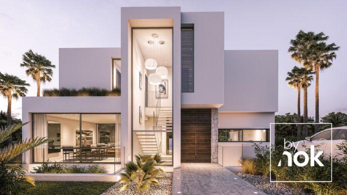 Neubau Projekt moderne Villen Neue goldene Meile Marbella ...