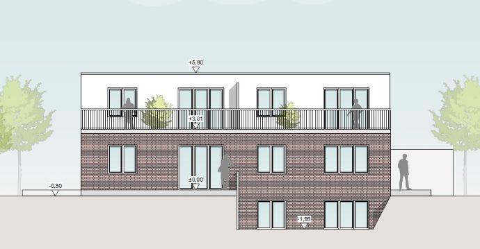 Neubau - 2 - Zimmerwohnung in ruhiger Wohnlage