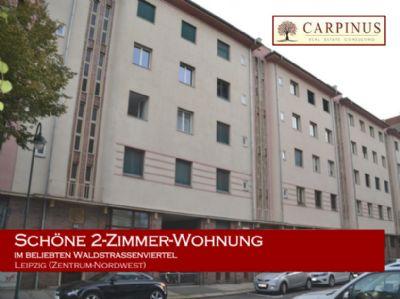Schöne 2-Zimmer-Wohnung im beliebten Waldstraßenviertel