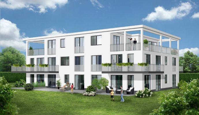 Super geschnittene 3 Zimmer-Wohnung mit 3 Balkonen im Neubauprojekt