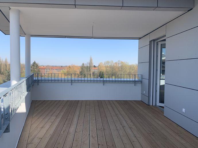 Erstbezug 2-Zimmer-Penthouse mit Dachterrasse in Uelzen -500m zum Bahnhof/Innenstadt