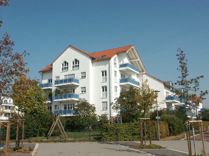 Ruhig gelegene, schöne 2-Zimmer-Wohnung im Grünen!