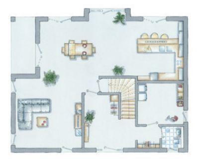Bild 10 : Variabler Erdgeschoss - Vorschlag