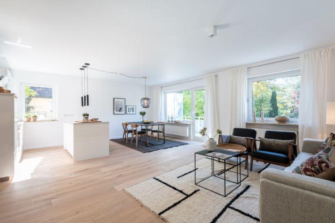 JUWEL IN RUHIGER BESTLAGE ALT-SOLLN - Großzügiger Wohntraum mit 2 sonnigen Balkonen