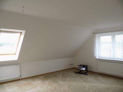 Wohnzimmer im Dachgeschoß