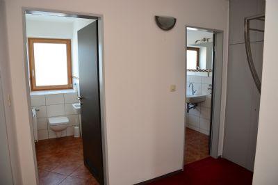 WC und Bad separat