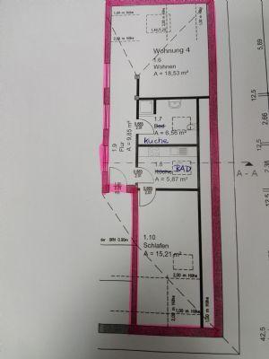 Neuwertige 2-Zimmer-DG-Wohnung mit Einbauküche im Norden Braunschweigs