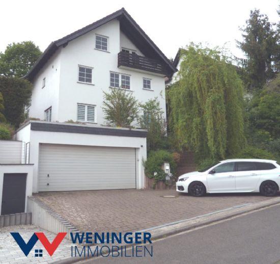 Einfamilienhaus mit ELW und tollem Blick auf die Nahe