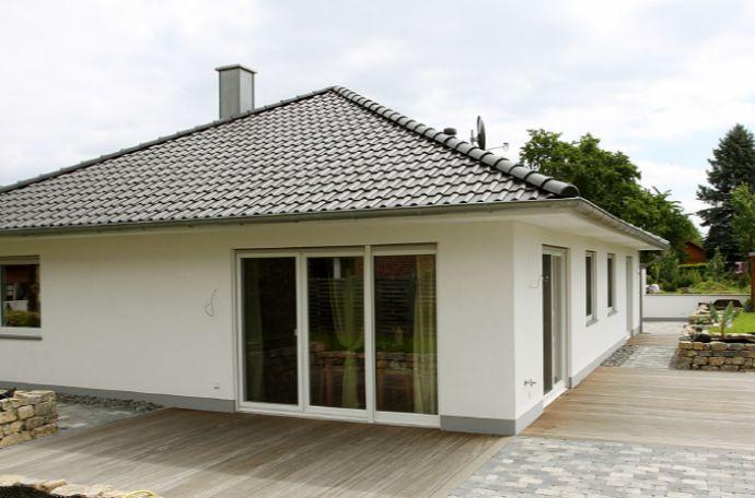 Neubauplanung für einen Bungalow in Bad Oeynhausen-Wulferdingsen.