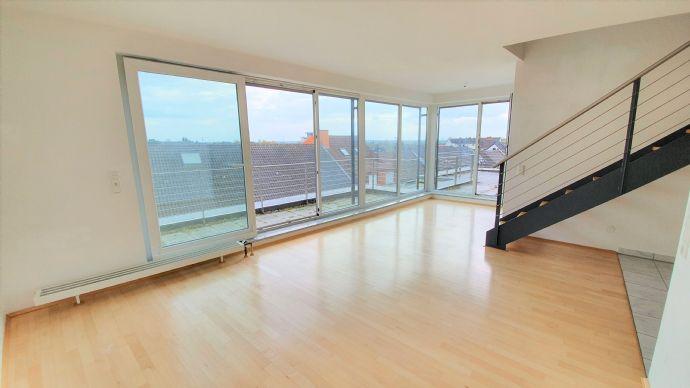 2,5-Zimmer Maisonettewohnung mit Balkonen auf beiden Ebenen