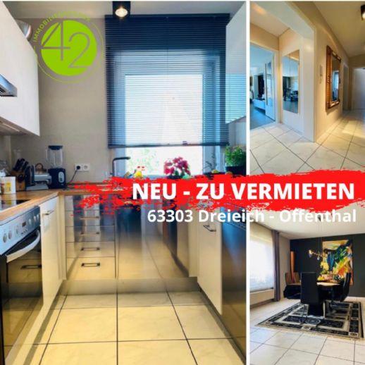 großzügig, stilvoll, elegant! 3,5 Zimmer-Etagenwohnung in Offenthal