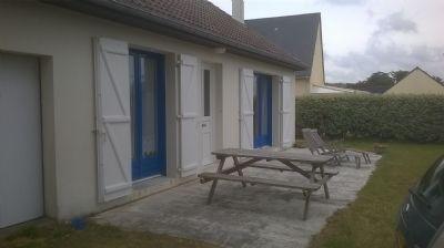 Ferienwohnung am Meer bei Kanalinseln, Surtainville, Normandie und 150 meter vom Meer und Sicht auf Jersey und Sark.