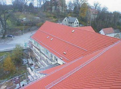 Gesamtes Dach neu vollisoliert