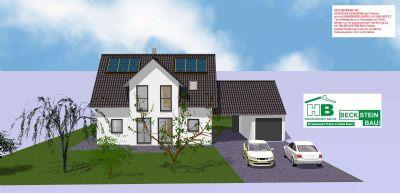 Haus 1 Süd Garage mit Satteldach