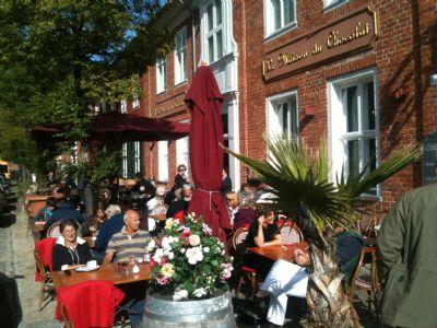 Frühstück im Holländischen Viertel