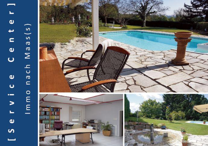 âPool, Garten, Sonne, Entspannung â Einfamilienhaus mit Gewerbeanbau in Hohberg-Niederschopfheim