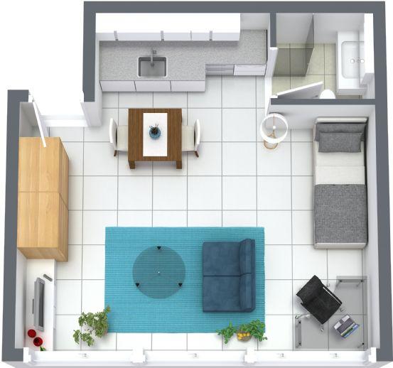 /// TOP Lage nähe Königsplatz - 1 Zimmer Wohnung mit Einbauküche ///