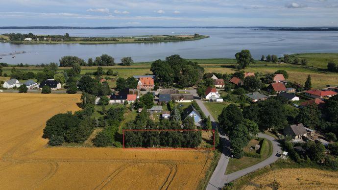 Traumgrundstück auf der Halbinsel Gnitz
