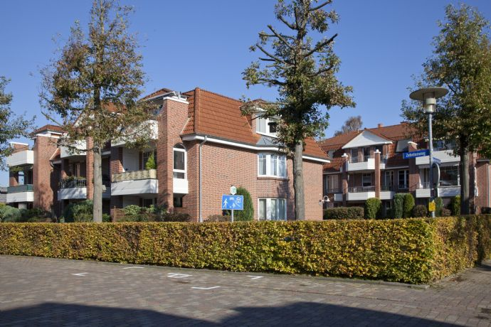 Schöne zentral gelegene  3-Zimmer-Erdgeschoss-Wohnung im Herzen von Bad Zwischenahn - mit Terrasse