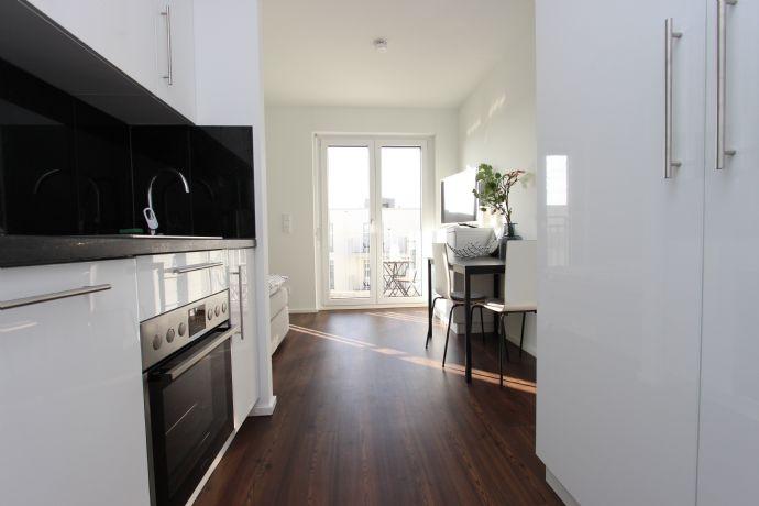 Helle möblierte 1 - Zimmer Wohnung in Schwabing