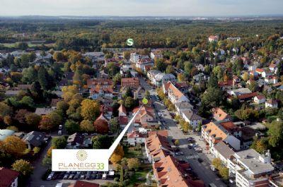Luftbild mit Lagedarstellung