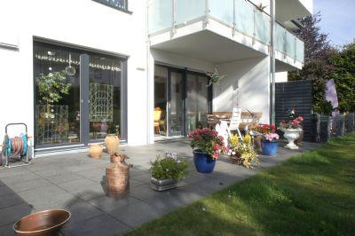 terrassenwohnung mit gartenanteil in neubau in w rselen mit luft w rmepumpenheizung wohnung. Black Bedroom Furniture Sets. Home Design Ideas