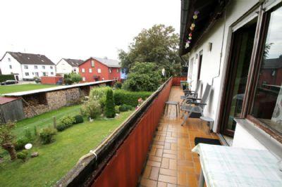 Balkon im 1. Obergeschoß