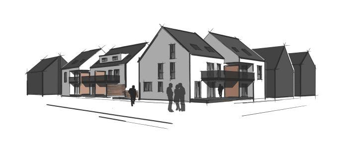 Heim & Richter - 4 Zimmer Neubauwohnung in einem moderen 10 Familienhaus in Worfelden