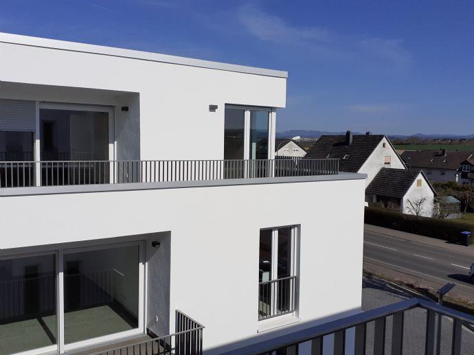 Helle, großzügig geschnittene 2-Zimmer-Wohnung mit 65 m² Wfl. im 2. Stock, Bj. 2021 mit Balkon un