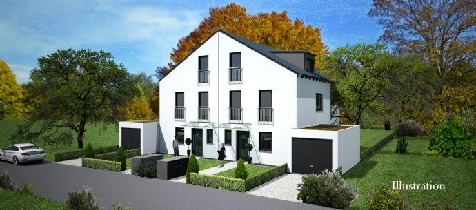 Neubau: Hochwertige, moderne DHH in ruhiger, grüner und begehter Wohnlage VERKAUFT