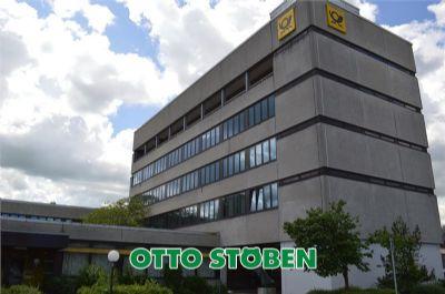 Postgebäude in Heide