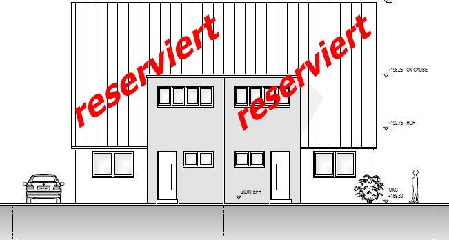 Neubau- Doppelhaushälften in Holzwickede -Süd