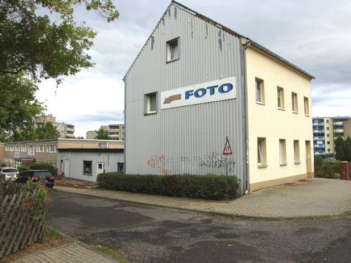 Wohn- und Geschäftshaus mit Anbau in guter Lage von Bad Freienwalde