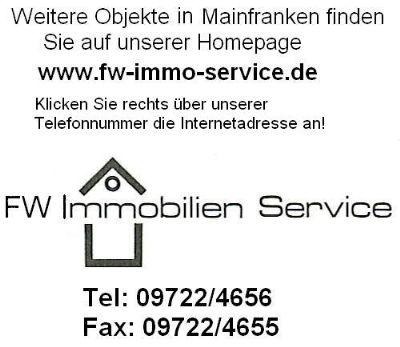 Renovierungsbedürftiges Mehrfamilienhaus mit 4 Wohneinheiten, 3 davon Maisonette in Willanzheim, Ortsteil