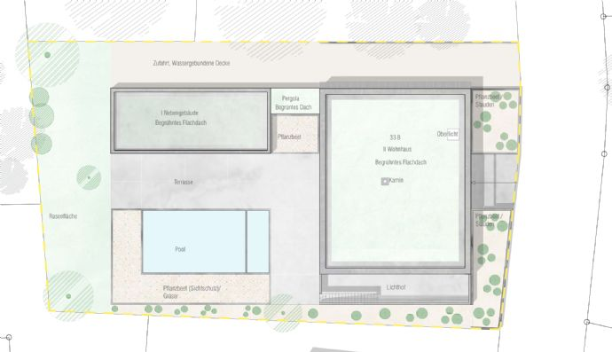 Baugrundstück in bester Lage Kassels mit Baugenehmigung für luxuriöse EFH-Villa