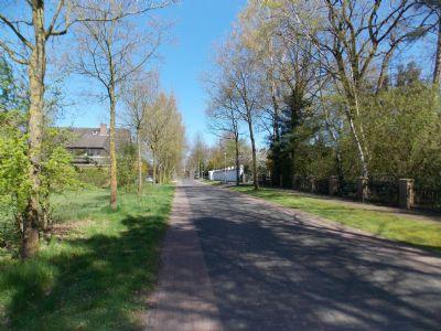 Zugangsstraße ins Wohngebiet