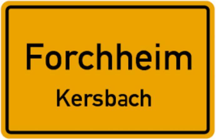 Großzügiges Einfamilienhaus mit 550 qm Grund und 240 qm WF in Forchheim-Kersbach