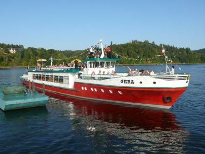 Tourismus am Ort (Schifffahrt)