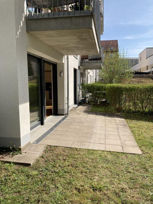 91052 Erlangen-Innenstadt - 1-ZW mit EBK, Terrasse und Garten