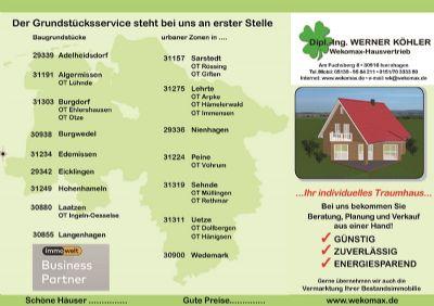 Naturnah wohnen zwischen Hannover, Celle und Braunschweig