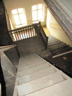 Blick vom DG in das Treppenhaus