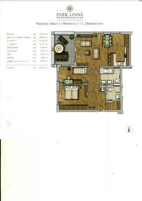 Wohnflächen + Grundriss - siehe pdf-Anhang !