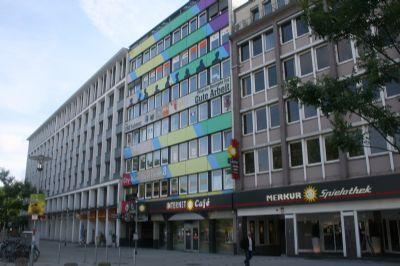 Fassade des Bürohauses