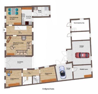 g nstig zentral ruhig in der altstadt gro es wohnhaus. Black Bedroom Furniture Sets. Home Design Ideas