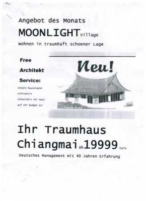moonlight village traumhaus chiang mai in herrlicher h henlage cebu philippinen haus lalin. Black Bedroom Furniture Sets. Home Design Ideas